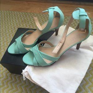 Jcrew Lia midheel sandals size 7.5